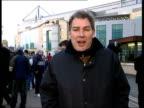 Chelsea v Arsenal in Champions League ITN London Stamford Bridge EXT i/c