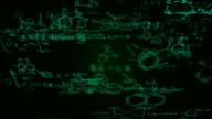 Chemie-Formeln (grün)-Loop