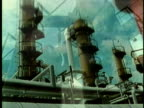 1969 MONTAGE WS Chemical plant and industrial buildings/ USA/ AUDIO