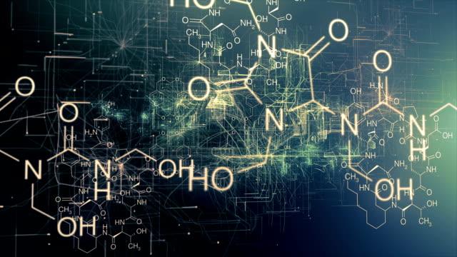 Chemie Science Molekülstruktur
