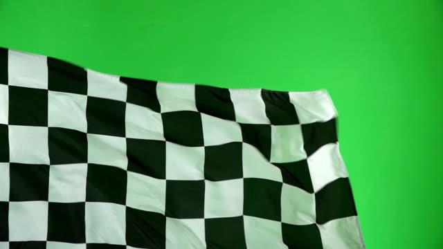 Chequered flag, Chroma key, Motor racing, Formula one Slow motion