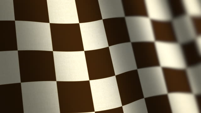 Chequered Flag - Loop. 4k