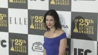 Cherien Dabis at the 2010 Film Independent's Spirit Awards Arrivals at Los Angeles CA