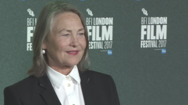Cherry Jones at 'The Party' UK Premiere 61st BFI London Film Festival at Embankment Gardens Cinema on October 10 2017 in London England