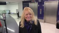 INTERVIEW Cheryl Tiegs talks about Sports Illustrated Model Ashley Graham while departing at LAX Airport in Los Angeles in Celebrity Sightings in Los...