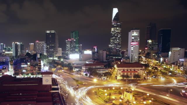 WS TL Chi Minh City skyline at night