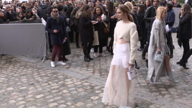 Outside Arrivals Paris Fashion Week Womenswear Fall/Winter 2016/2017 Christian Dior show as part of the Paris Fashion Week Womenswear Fall/Winter...