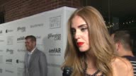 INTERVIEW – Chiara Ferragni on why this event is so important on there being so much miscommunication about HIV/AIDS at amfAR generationCURE Solstice...