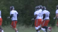 WGN Chicago Bears At Practice on August 24 2015