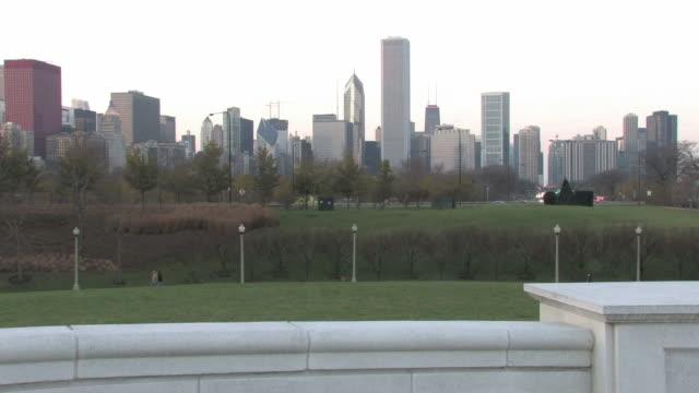 Chicago overcast skyline - HD 1080/30F