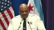 WGN Chicago Police Superintendent Eddie Johnson spoke at a press conference on March 24 2017 after a series of drug and gang raids on Chicago's West...