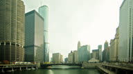 0071 Chicago River Time Lapse 4K