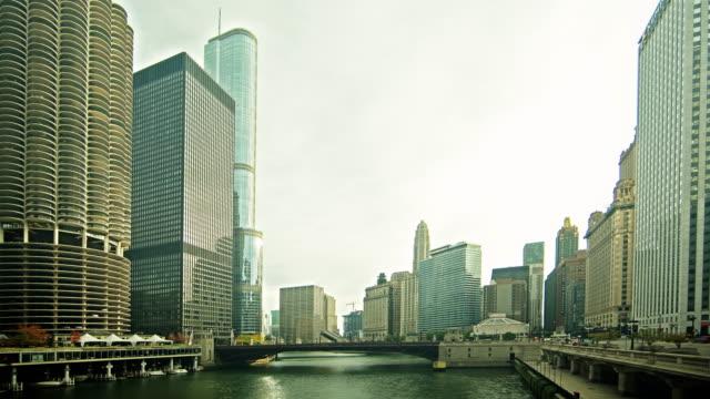 0071 Chicago River Zeitraffer 4 K