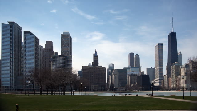 Chicago Skyline and Lake