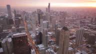 Chicago Skyline. HQ 1080P  4:4:4
