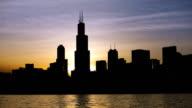Chicago Skyline Sunset on 2014.06.03