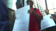 WGN Chicago Teachers Union picketing outside of Chicago Public Schools central office because of budget cuts on May 27 2015