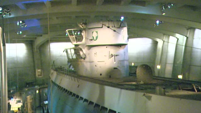 Chicago's Museum Of Science And Industry now has the only German Uboat submarine in the United States The U505 submarine was blasted out of hiding by...
