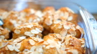 Chicken Breast Rolls and almonds meal