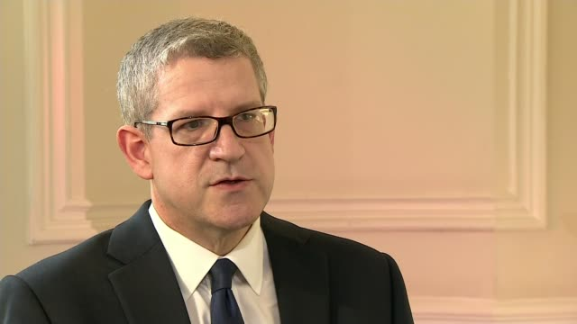 MI5 chief Andrew Parker says scale of terror threat highest he has seen INT Andrew Parker interview SOT/ Andrew Parker press conference SOT we are...
