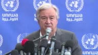 UN chief Antonio Guterres called for the blockade of the Gaza Strip to be lifted Wednesday as he visited the Palestinian enclave enduring one of the...