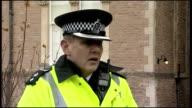 EXT Chief Supt Jon Stratford speaking to press SOT
