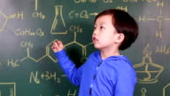 Child Learning chemistry