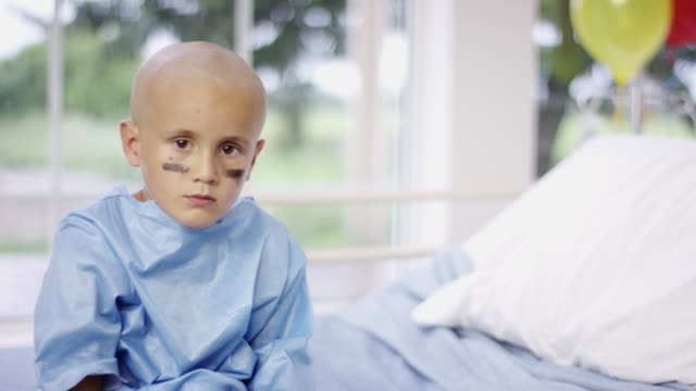 Child with Cancer at Hospital