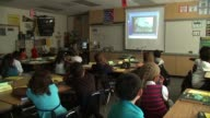 Children at an Elementary School on September 07 2010 in San Diego California