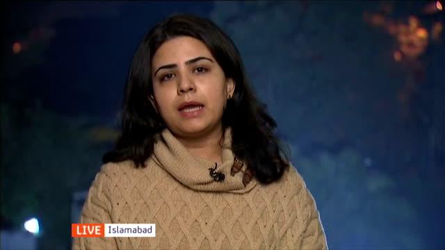 132 children killed in Taliban attack on army school in Peshawar ENGLAND London GIR INT Ammara Durrani LIVE interview from Islamabad SOT