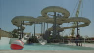 MS, Children playing in water park