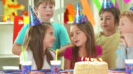 HD DOLLY: Children Singing The Happy Birthday Song