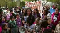 WS Children speak about immigration reform near White House Children of immigrants march near the White House while calling for immigration reform...