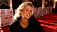 Children's Champions Awards 2010 celebrity arrivals ENGLAND London Grosvenor House PHOTOGRAPHY** Lucy Benjamin interview SOT On Dancing on Ice / the...