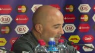 Chile coach Jorge Sampaoli hopes that the Copa America final against Argentina will be a decent show