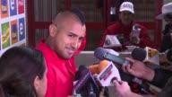 Chile derroto 21 a Perú el martes en Santiago con una destacada actuacion del volante Arturo Vidal y el equipo vuelve a respirar en las...
