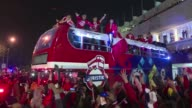 Chile salio del Estadio Nacional de Santiago por la puerta grande y con la Copa America en brazos