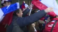 Chileans celebrate their first Copa America win after defeating Argentina on penalties