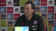 Chile's football team should divest themselves of their recent successes in order to keep says coach Juan Antonio Pizzi at a press conference before...