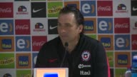Chiles football team should divest themselves of their recent successes in order to keep says coach Juan Antonio Pizzi at a press conference before...