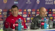 Chile's football team will play to be champions in the Copa America in front of a home ground against Argentina Saturday say coach Jorge Sampaoli and...