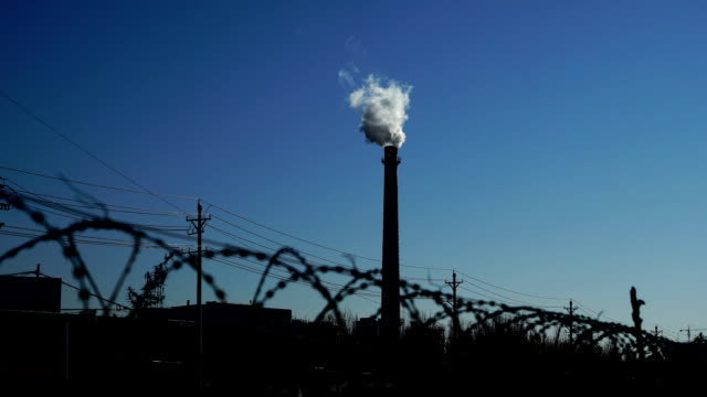 Chimney Smoke From a Chemical Plant