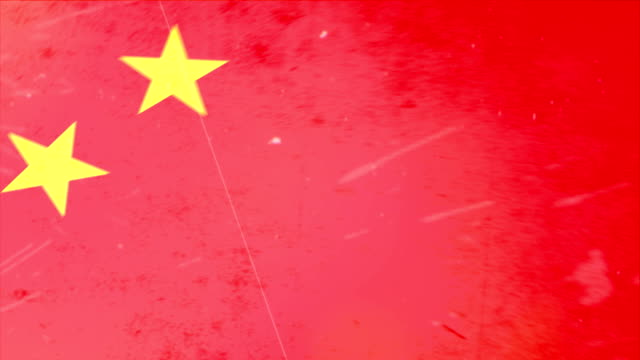 China Flag - Grunge. HD