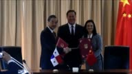 China hopes that its new diplomatic relations with Panama will help expand its influence in Latin America says the Foreign Minister Wang Yi during...