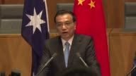China is not militarising the disputed South China Sea the country's premier insists in Australia claiming defence equipment Beijing has installed on...