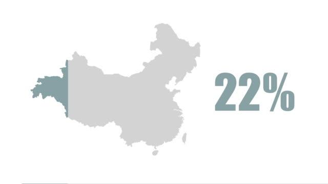 China map 100% info graphic