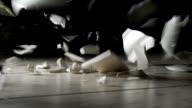 China plate breaks on floor