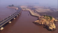 China, Shanghai: Donghai bridge