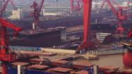 China, Shanghai: Harbor