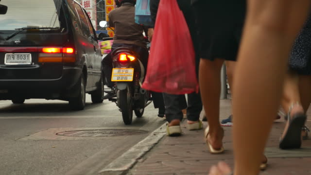 CITY STREET China stad Bangkok Thailand